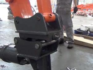 晋工机械轮挖属具--快换接头