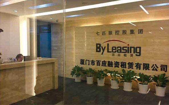 参股厦门市百应融资租赁有限公司,成为主要股东之一。